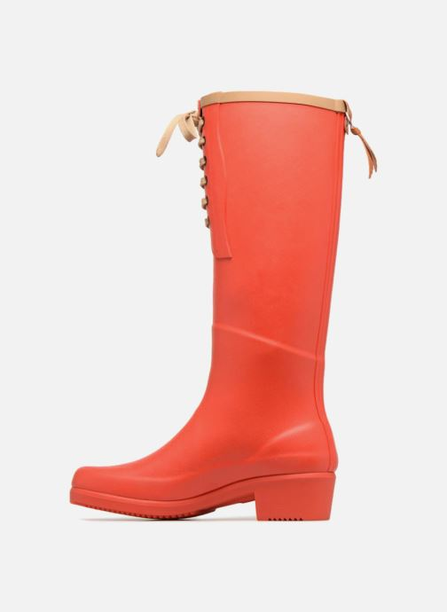 Boots & wellies Aigle Miss Juliette L Red front view