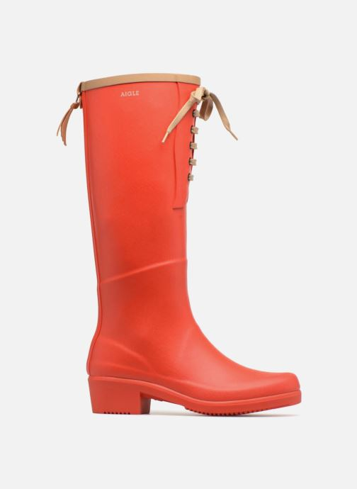 Boots & wellies Aigle Miss Juliette L Red back view