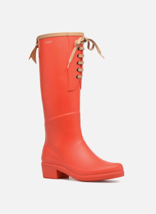Boots & wellies Aigle Miss Juliette L Red detailed view/ Pair view