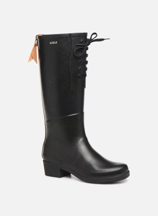 Støvler & gummistøvler Aigle Miss Juliette L Sort detaljeret billede af skoene