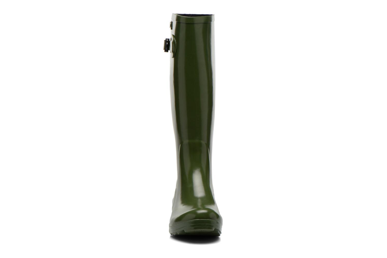 Bottes Aigle Brillantine Or et bronze vue portées chaussures
