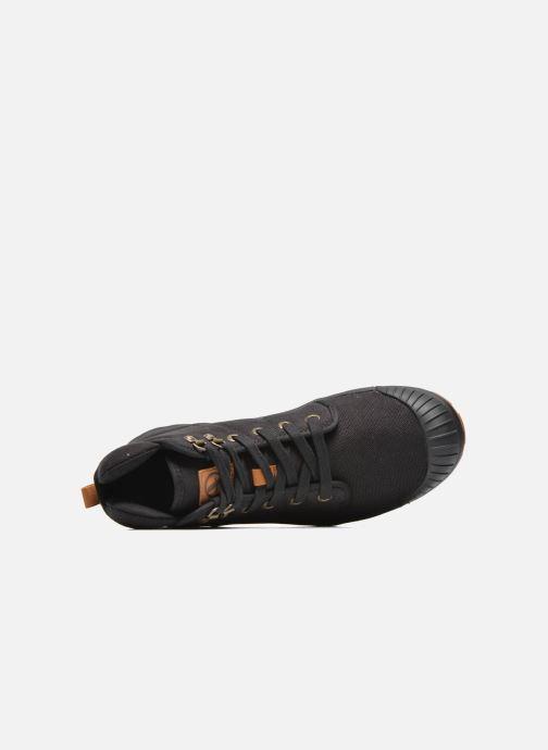 Sneaker Aigle Tenere Light schwarz ansicht von links