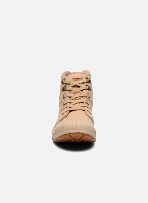 Baskets Aigle Tenere Light Beige vue portées chaussures