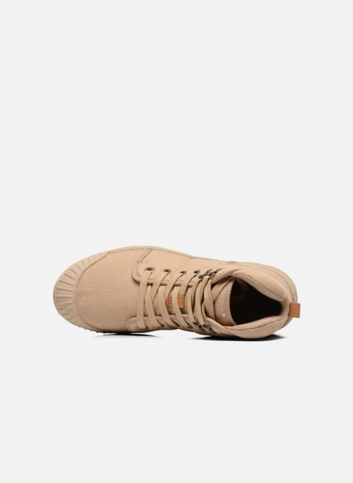 Sneaker Aigle Tenere Light beige ansicht von links