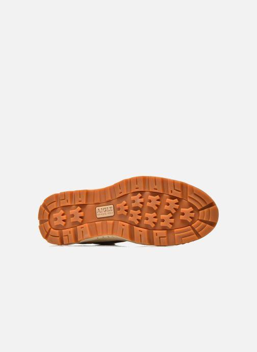 Sneakers Aigle Tenere Light Verde immagine dall'alto