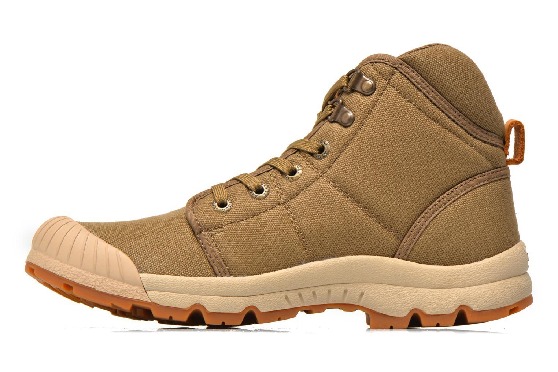 Boots en enkellaarsjes Aigle Tenere Light Beige voorkant