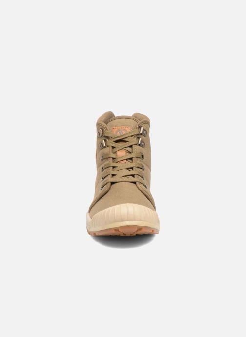 Baskets Aigle Tenere Light W Vert vue portées chaussures