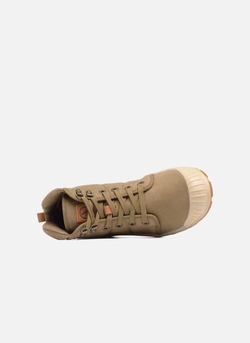 Sneaker Aigle Tenere Light W grün ansicht von links