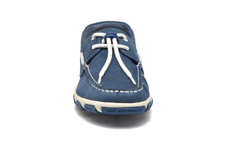 Chaussures à lacets TBS Jolina Bleu vue portées chaussures