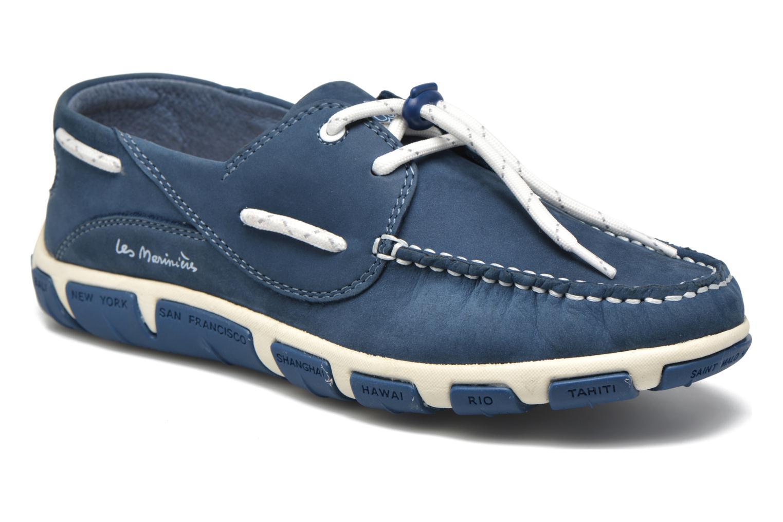 Chaussures à lacets TBS Jolina Bleu vue détail/paire
