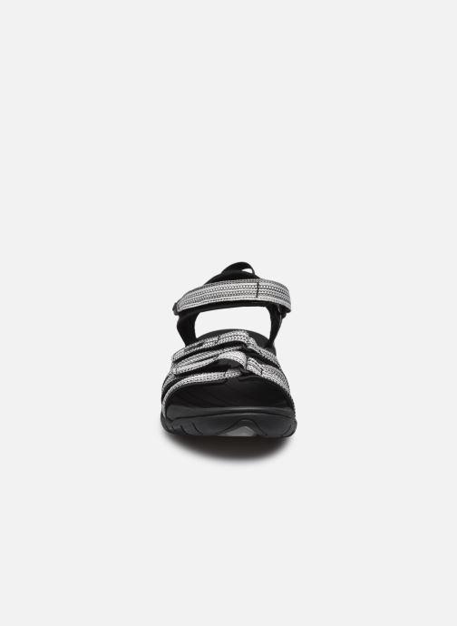 Scarpe sportive Teva Tirra Nero modello indossato