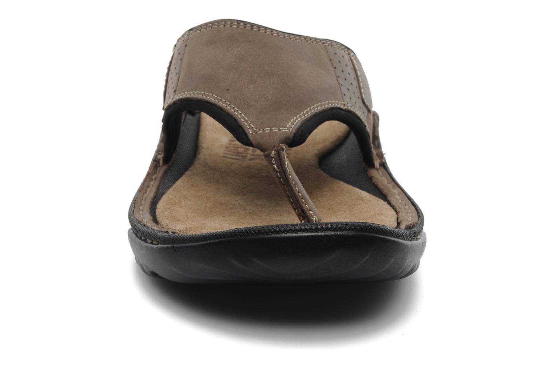 Flip flops TBS Easy Walk Cartag Brown model view