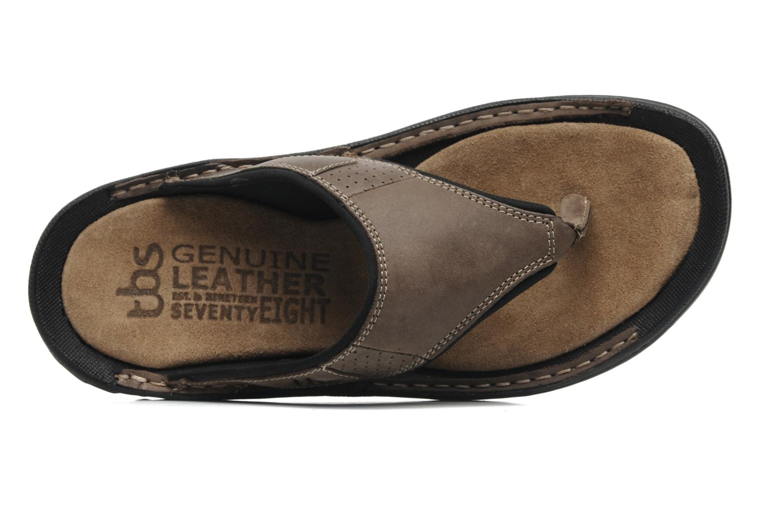 Flip flops TBS Easy Walk Cartag Brown view from the left