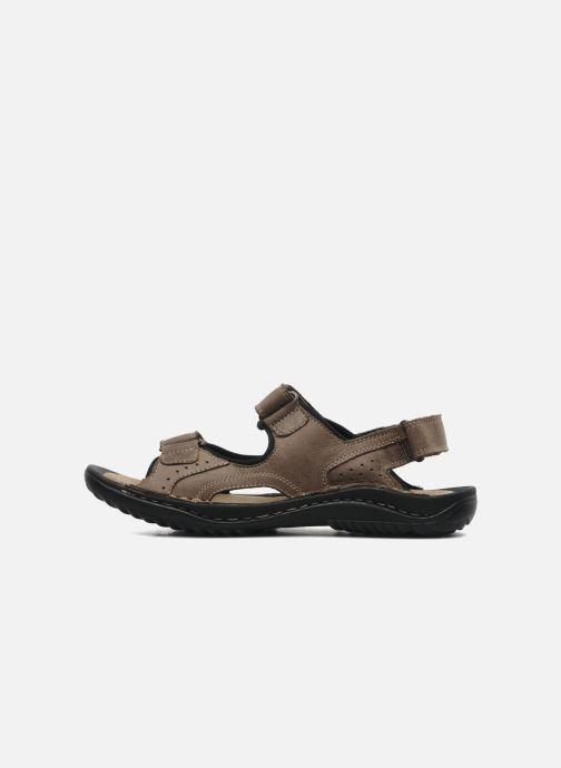 Sandales et nu-pieds TBS Easy Walk Carway Marron vue face