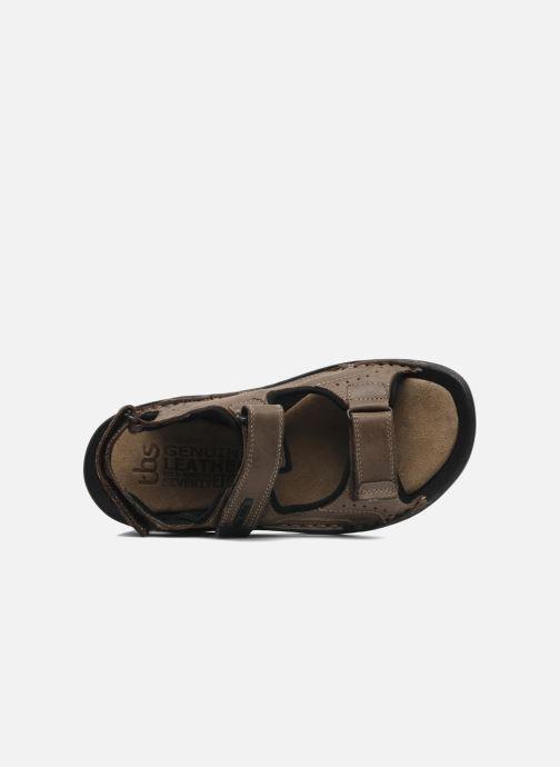 Sandales et nu-pieds TBS Easy Walk Carway Marron vue gauche