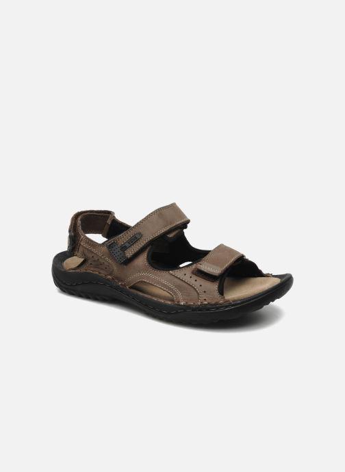 Sandales et nu-pieds TBS Easy Walk Carway Marron vue détail/paire