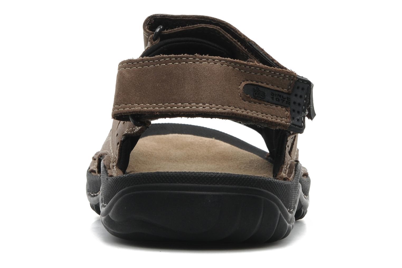 Sandales et nu-pieds TBS Easy Walk Carway Marron vue droite
