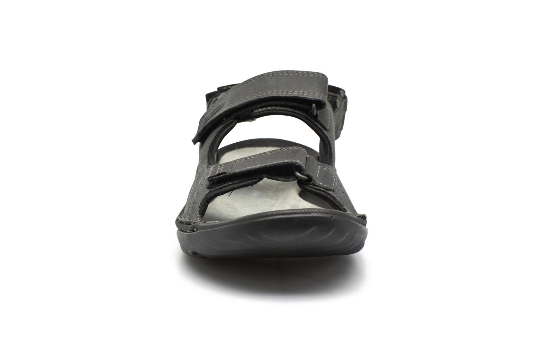 Sandales et nu-pieds TBS Easy Walk Carway Noir vue portées chaussures