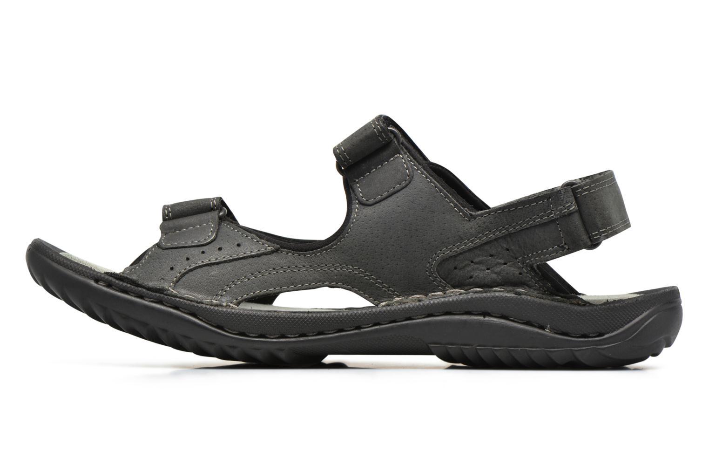 Sandales et nu-pieds TBS Easy Walk Carway Noir vue face