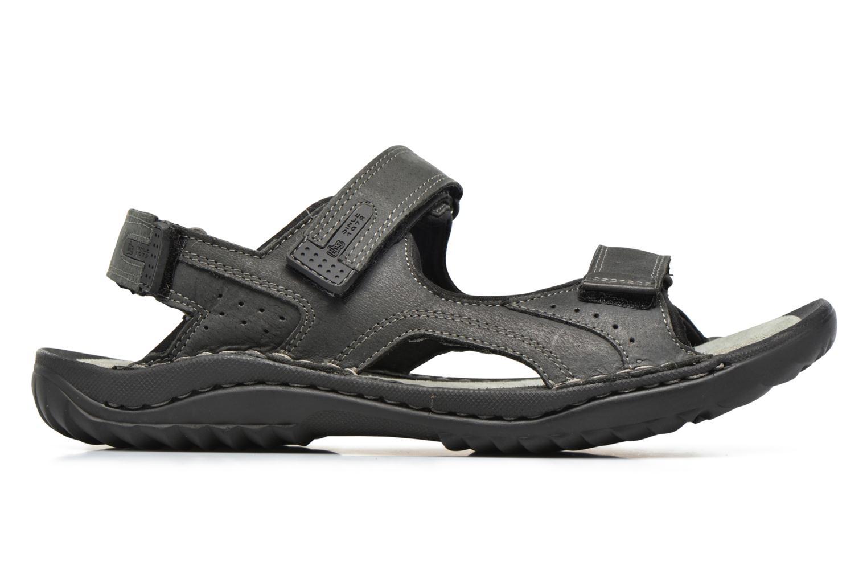 Sandales et nu-pieds TBS Easy Walk Carway Noir vue derrière