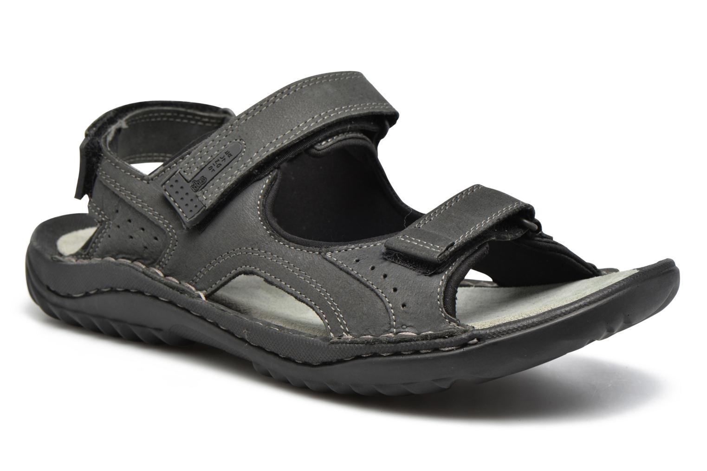 Sandales et nu-pieds TBS Easy Walk Carway Noir vue détail/paire