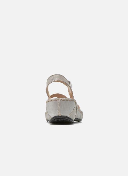 Sandales et nu-pieds TBS Easy Walk Vladia Beige vue droite