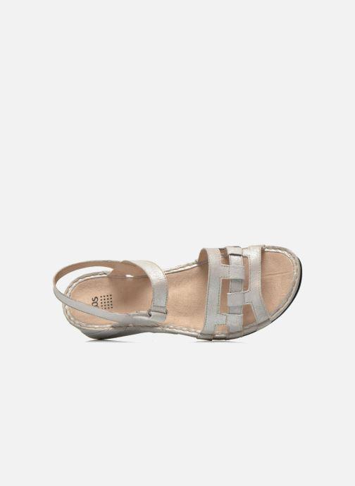 Sandales et nu-pieds TBS Easy Walk Vladia Beige vue gauche