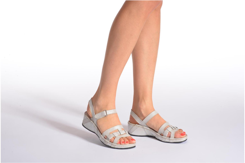 Sandales et nu-pieds TBS Easy Walk Vladia Beige vue bas / vue portée sac