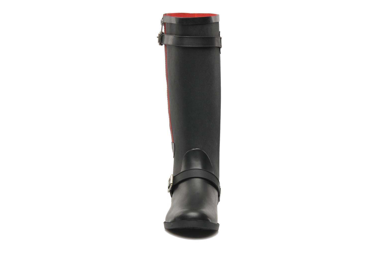 Bottes Be Only Kimi Noir vue portées chaussures