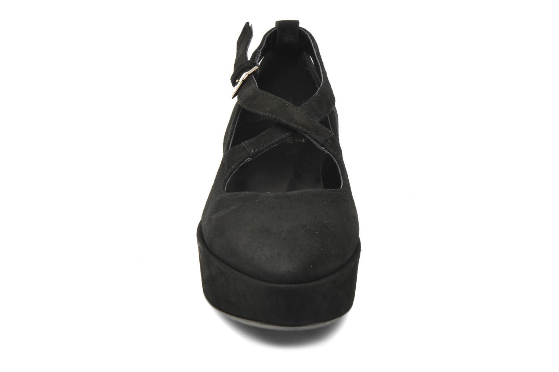 Escarpins Eden Daniele Noir vue portées chaussures