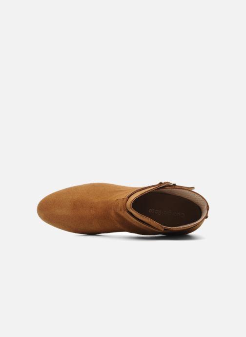 Chaussures à lacets Georgia Rose Pevek Marron vue gauche