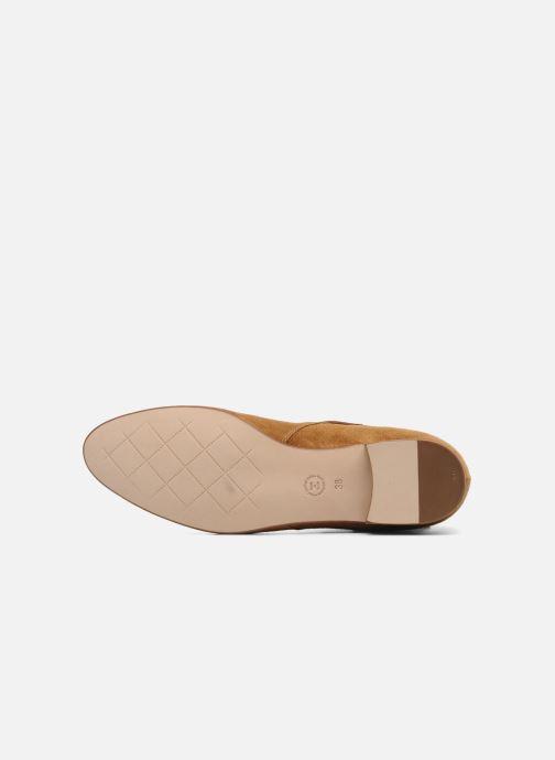 Chaussures à lacets Georgia Rose Pevek Marron vue haut