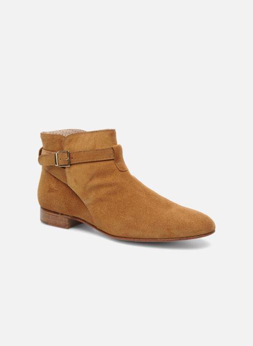 Chaussures à lacets Georgia Rose Pevek Marron vue détail/paire
