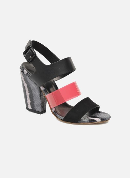 Sandales et nu-pieds Serafini Nora Multicolore vue détail/paire