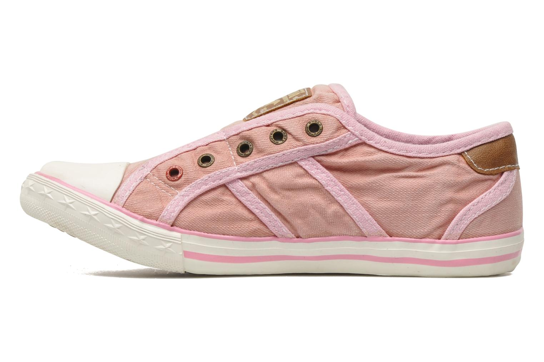 Sneakers Mustang shoes Sorala Roze voorkant