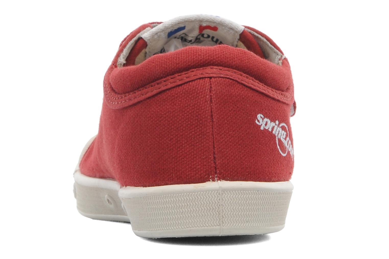 Sneakers Spring Court GE1 CVS VELCRO Rød Se fra højre