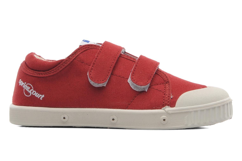 Sneakers Spring Court GE1 CVS VELCRO Rød se bagfra