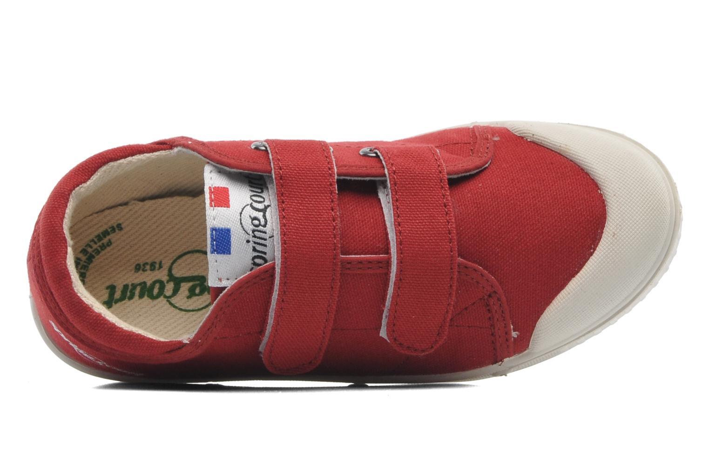 Sneakers Spring Court GE1 CVS VELCRO Rød se fra venstre