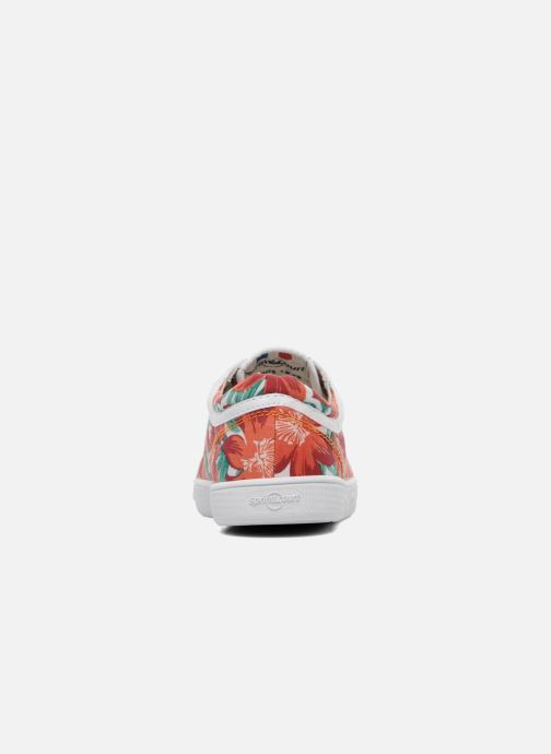 Sneakers Spring Court GE1L JUNGLE Arancione immagine destra