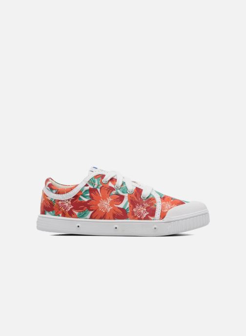 Trainers Spring Court GE1L JUNGLE Orange back view
