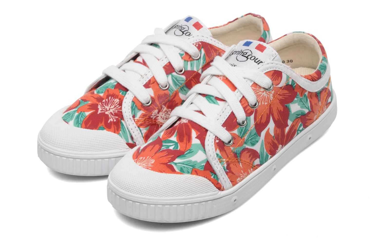 Sneakers Spring Court GE1L JUNGLE Orange 3/4 billede
