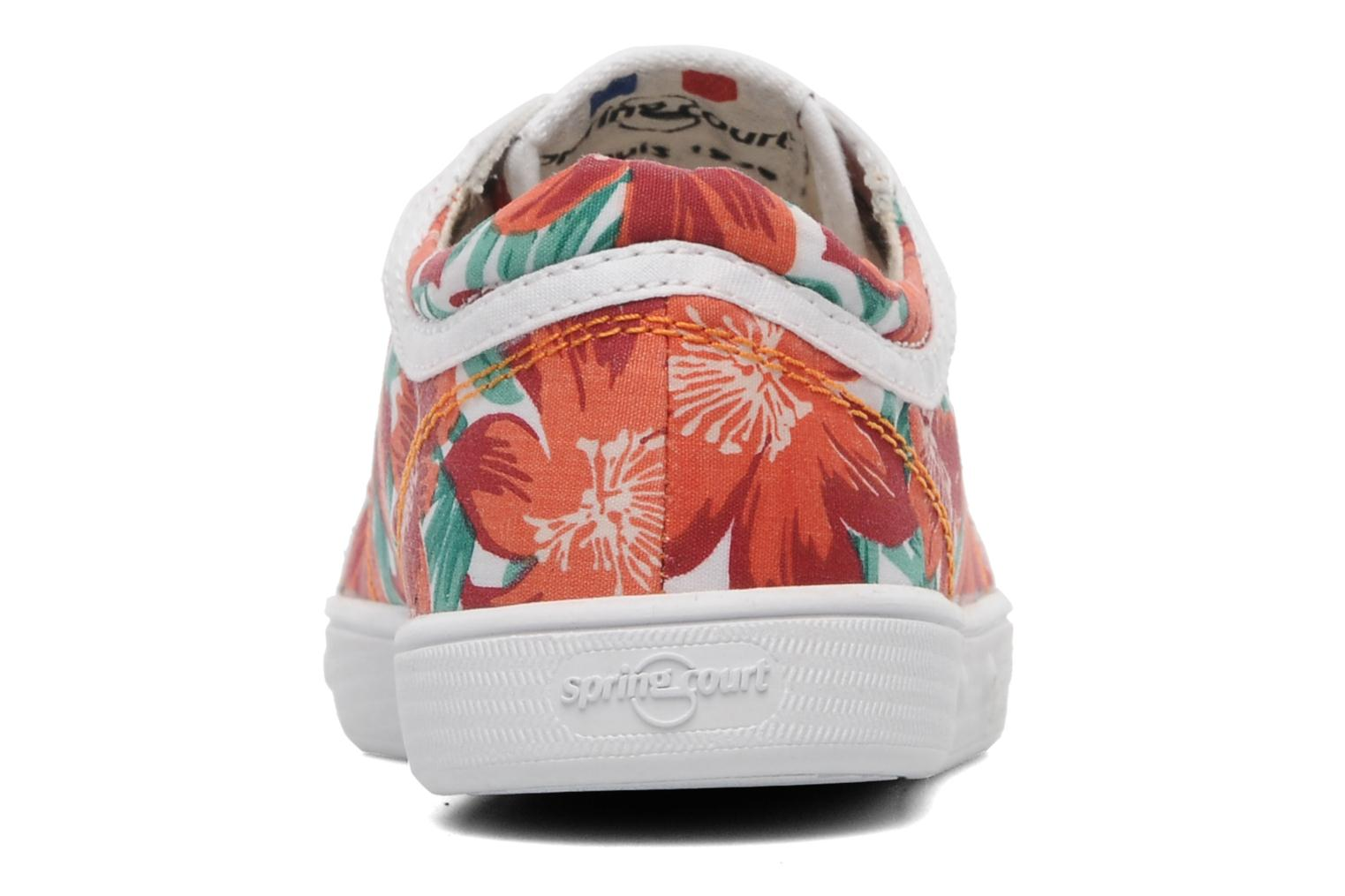 Sneakers Spring Court GE1L JUNGLE Orange Se fra højre