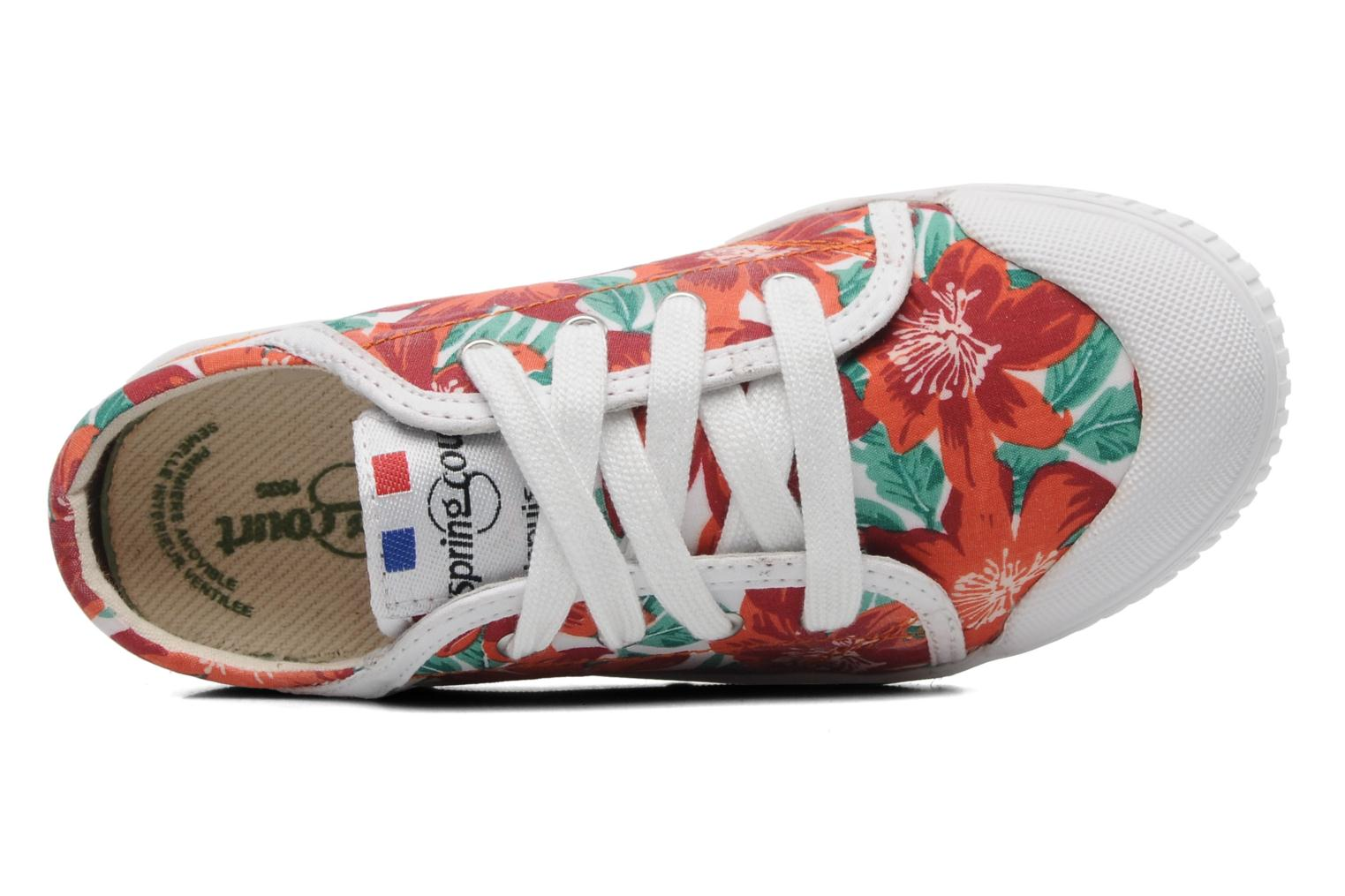 Sneakers Spring Court GE1L JUNGLE Orange se fra venstre