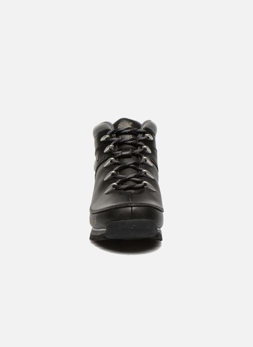 Chaussures à lacets Timberland Euro Sprint Hiker Noir vue portées chaussures