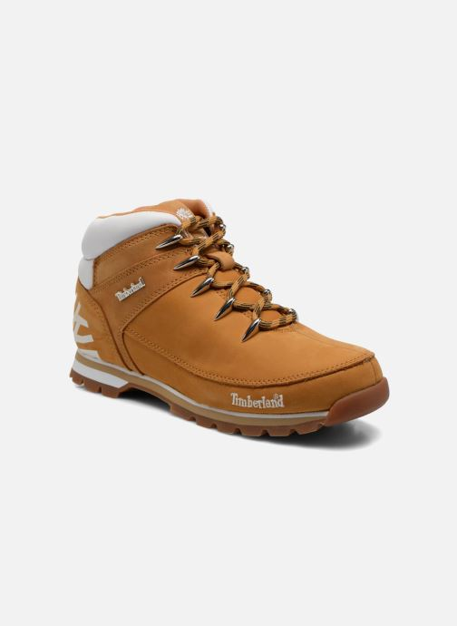 372f0ad31de0 Lace-up shoes Timberland Euro Sprint Hiker Beige detailed view  Pair view