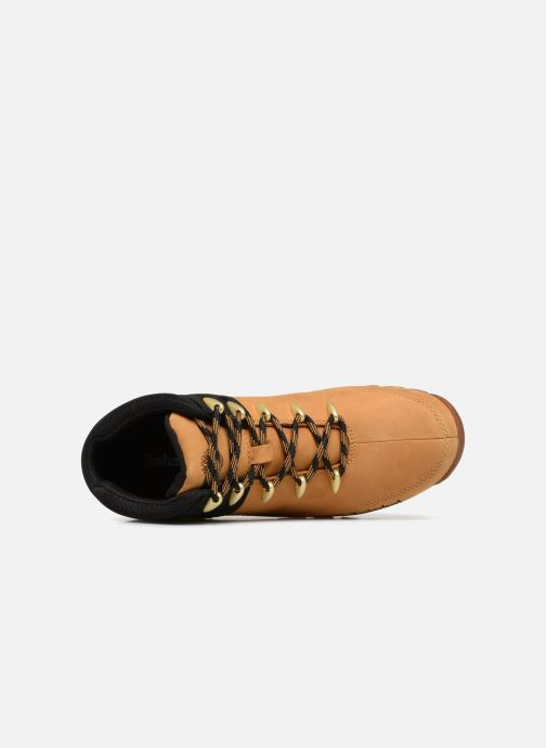 Chaussures à lacets Timberland Euro Sprint Hiker Marron vue gauche