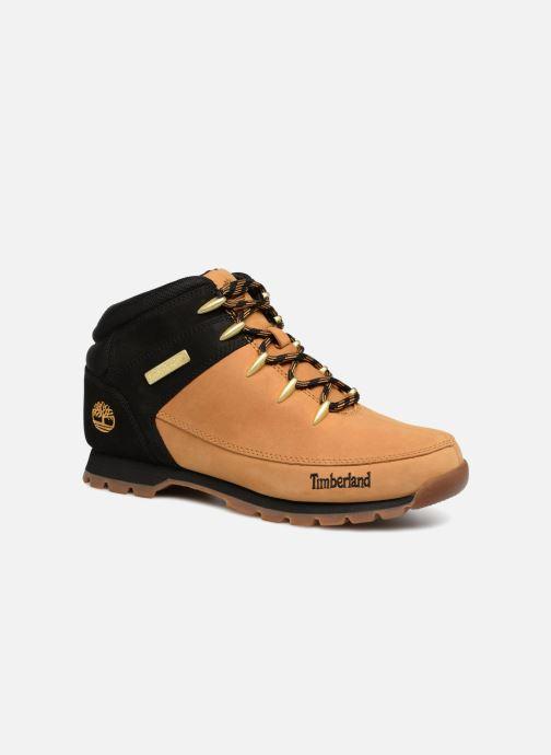 Snøresko Timberland Euro Sprint Hiker Brun detaljeret billede af skoene