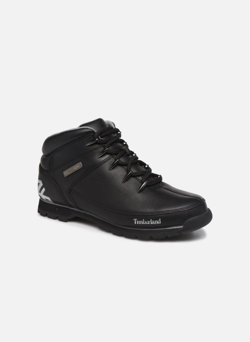 Snøresko Timberland Euro Sprint Hiker Sort detaljeret billede af skoene