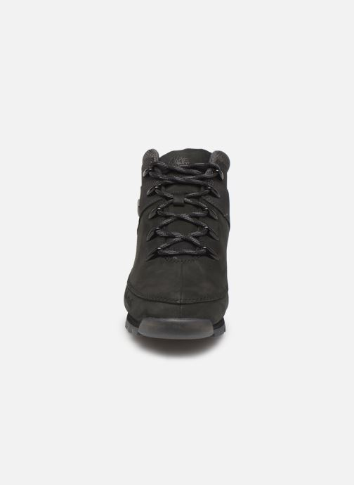 Lace-up shoes Timberland Euro Sprint Hiker Black model view