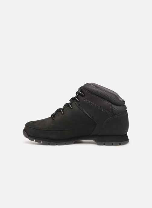 Lace-up shoes Timberland Euro Sprint Hiker Black front view